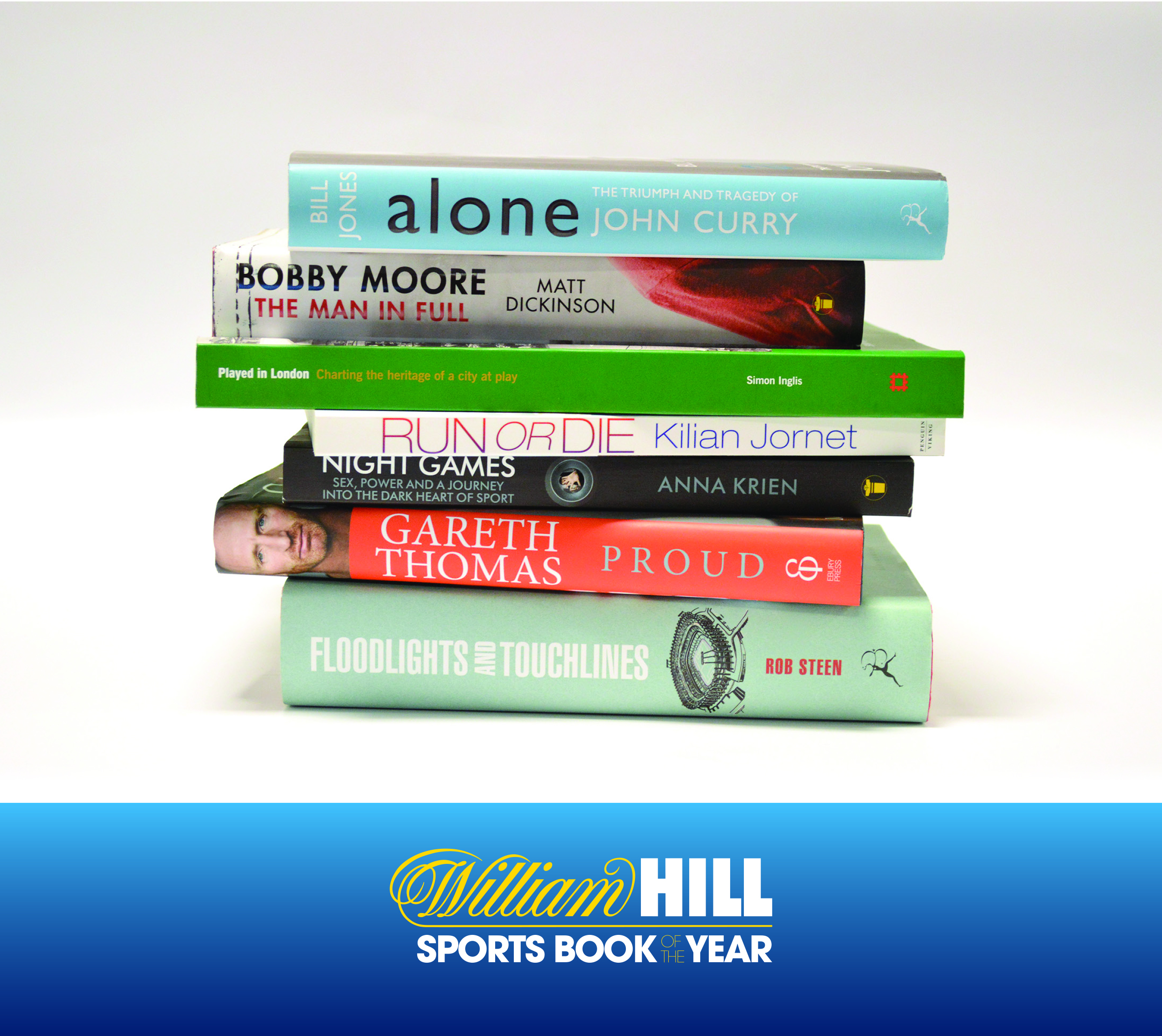 Sports Book of The Year 2014 - Shortlist