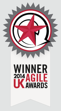 Winner 2014 UK Agile Awards