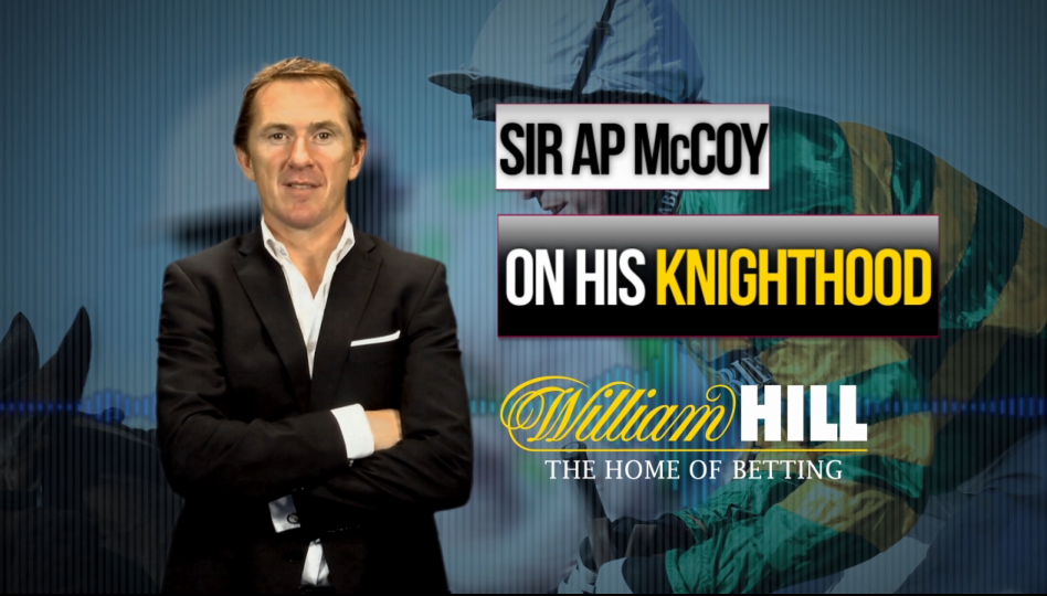 Play video: AP McCoy on his knighthood